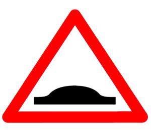 Denivelare pentru limitarea vitezei